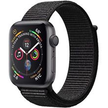 Apple Watch 4 GPS 40mm Space Gray Aluminum Case With Black Sport Loop Band